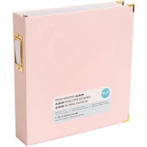 Папка на кольцах для фотографий Project Life 22х28 см - We R Paper Wrapped D-Ring Album