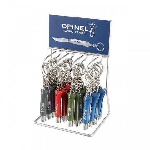 Набор Opinel  (OP-001743) №4 ножи-брелоки 36 шт: синий/зеленый/красный/серый