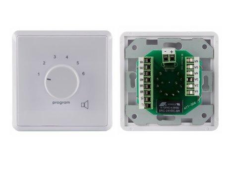 Селектор программ с регулятором громкости PR-06