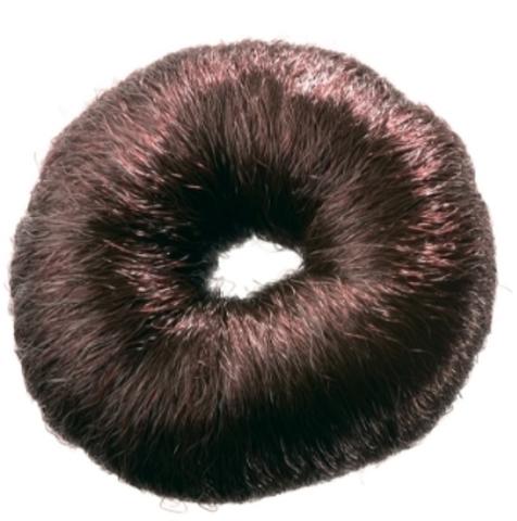 Валик HO-5115 Brown для прически, искусственный волос, коричневый d8 см (Dewal)