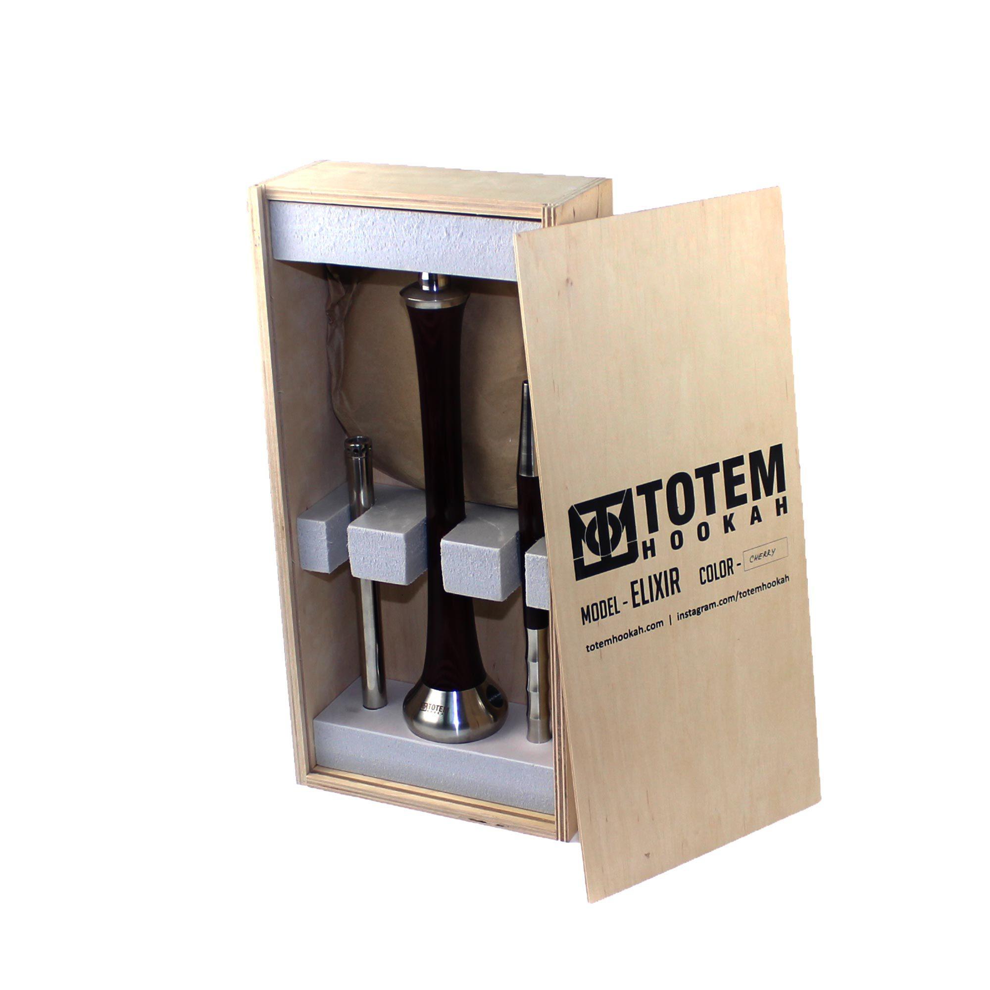 Фирменный деревянный ящик для шахты Totem Elixir Cherry