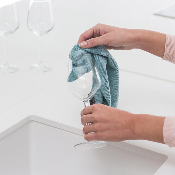 Набор чистящих салфеток из микрофибры (30x30 см), 2 шт., арт. 117701 - фото 1