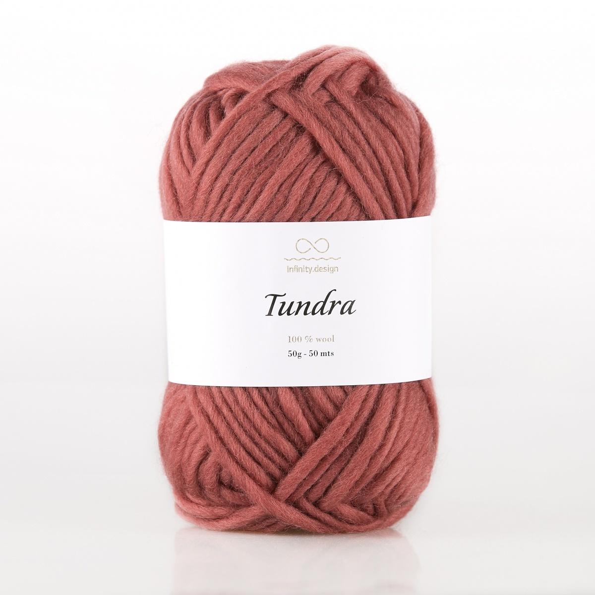 Пряжа Infinity Tundra 3846 кирпичный