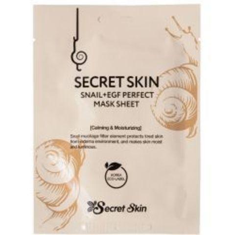 SECRET SKIN Snail+EGF perfect mask sheet 10ea