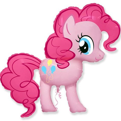Пони розовая
