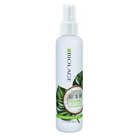 Matrix Biolage All in One: Несмываемый многофункциональный спрей для волос (All in One Coconut Infusion Multi-Benefit Spray), 150мл