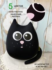 Мягкая игрушка-подушка Gekoko «Кот Уголь» 2