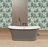Смеситель термостатический для ванны с каскадным изливом и душевым комплектом AROLA 2639MK - фото №3