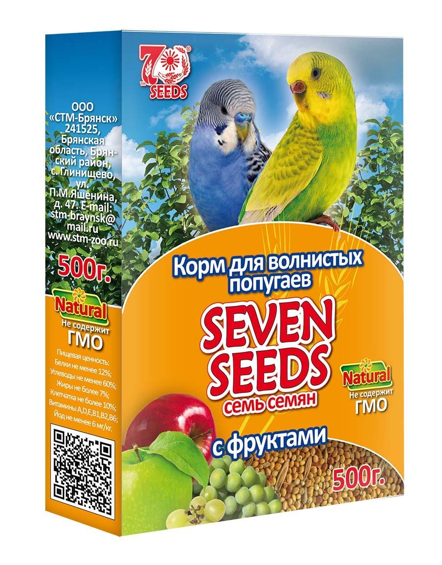 Корм Корм для волнистых попугаев с фруктами Seven Seeds 41.jpg