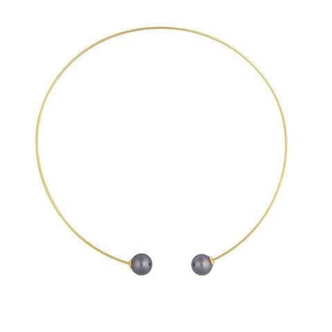 Колье Graphite Pearl B0500.3 BW/G