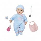 Zapf Creation Baby Annabell 794-654 Бэби Аннабель Кукла-мальчик многофункциональная, 46 см