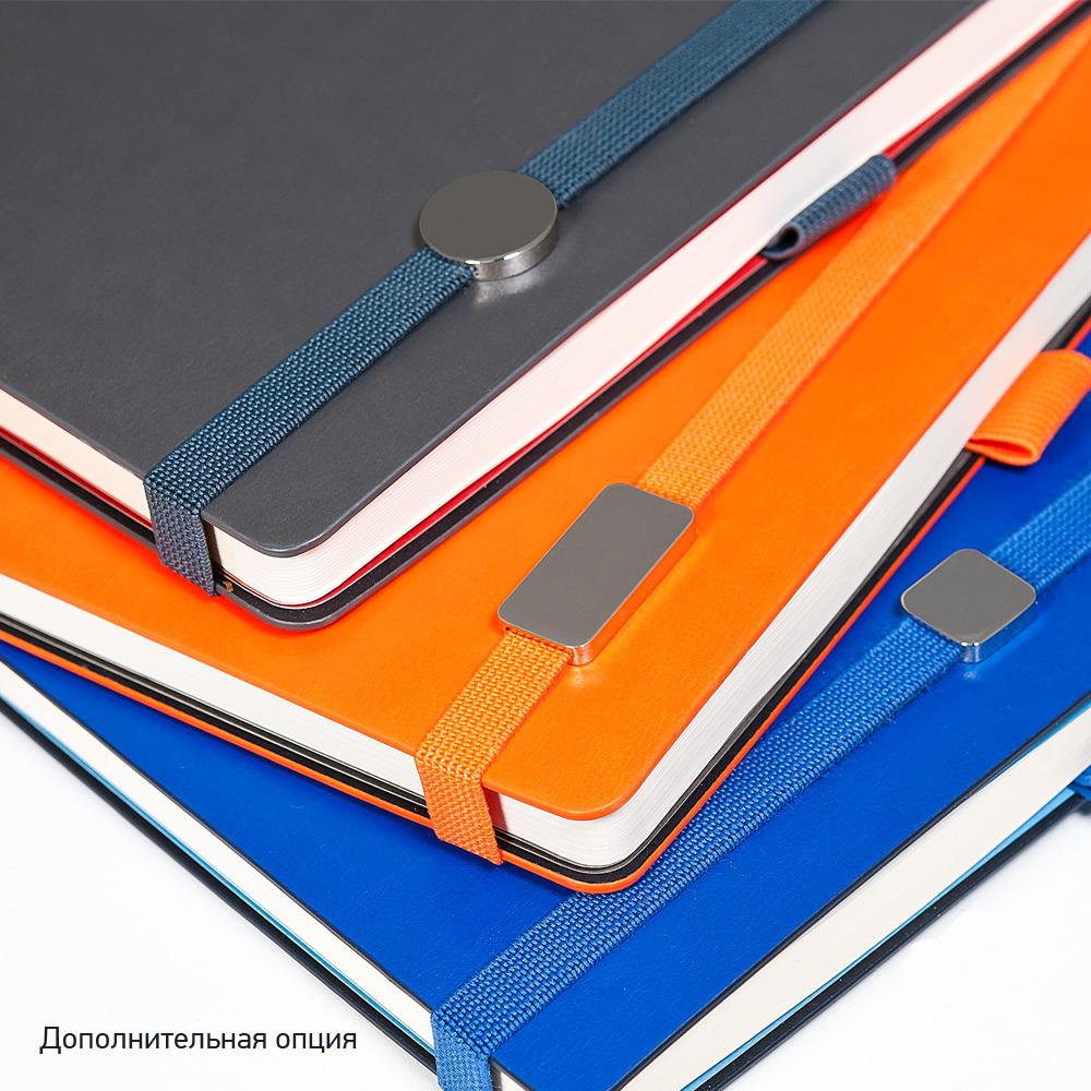 Ежедневник недатированный, Portobello Trend, Blue ocean , жесткая обложка, 145х210, 256стр,синий/красный