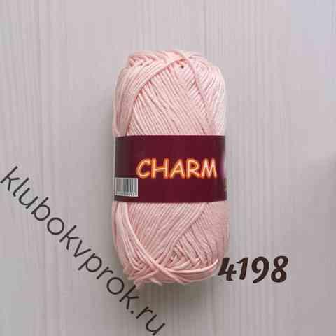 CHARM VITA COTTON 4198, Светлый розовый