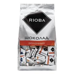 """Шоколад """"Rioba"""" Молочный порционный 32%, 800г"""