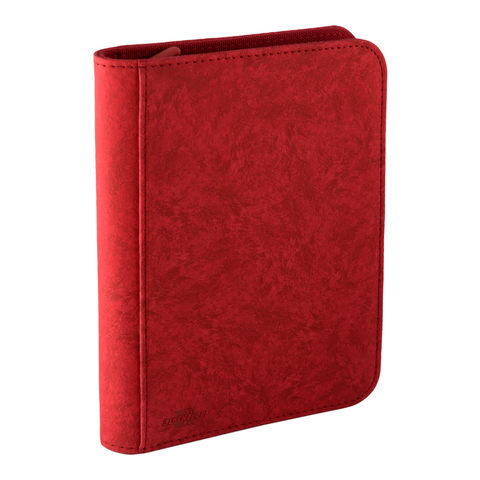 Blackfire 4-Pocket Premium Zip-Album - Red