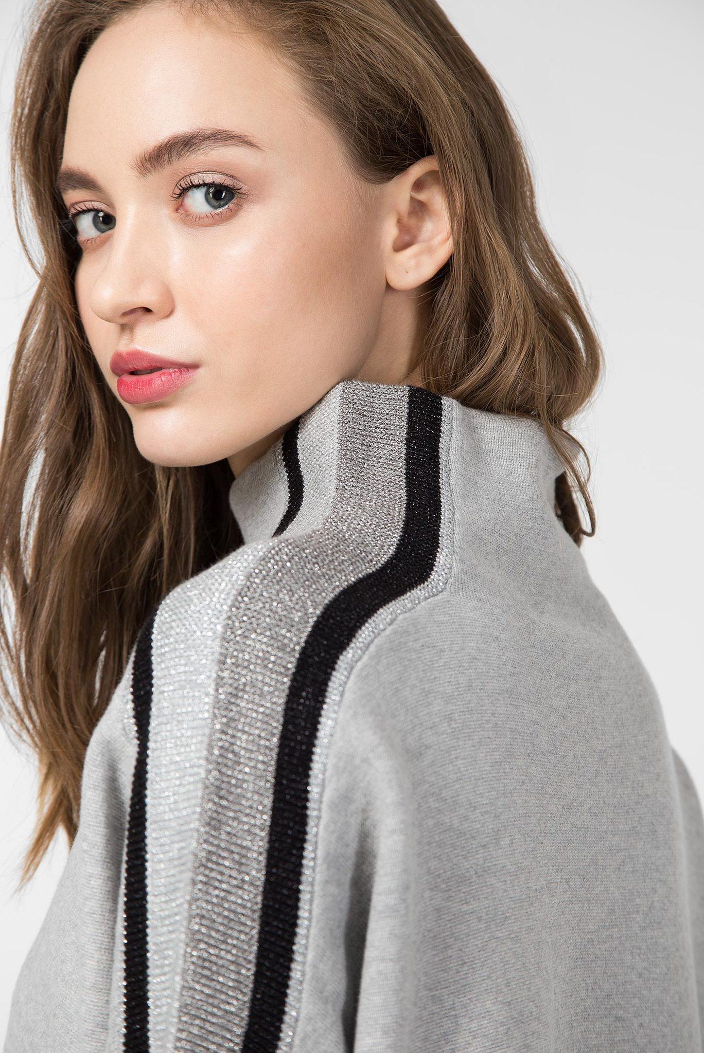 Женский серый свитер CACIE MOCK-NK Tommy Hilfiger