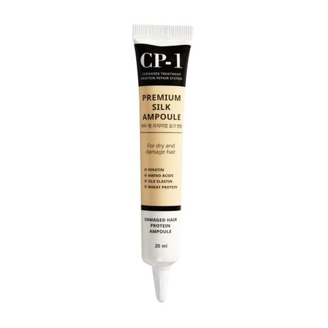 Cыворотка для волос с протеинами шелка Premium Silk Ampoule
