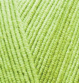 Пряжа Alize Cotton Gold желто-зеленый 612