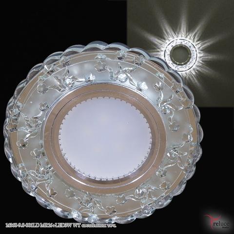 14368-9.0-001LD MR16+LED3W WT светильник точ.