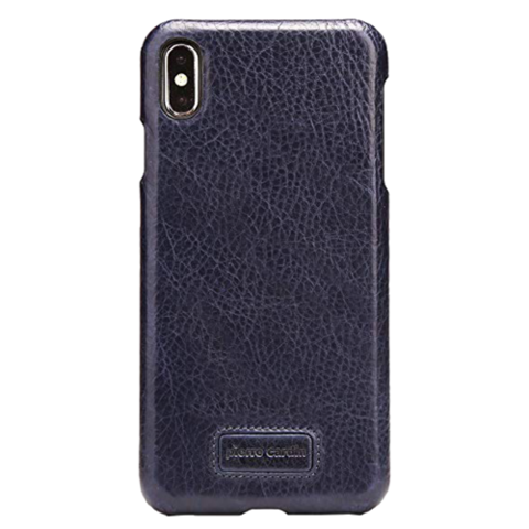 Pierre Cardin / Чехол-книжка для телефона iPhone Xs Max | Синий
