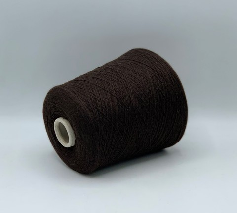 Бобинная пряжа (пр.Италия)art-cashmere ,1350м / 100 гр.100%Кашемир, цвет-Шоколад, арт.9833