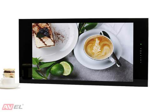 Встраиваемый Smart телевизор AVEL AVS320KS (черная рамка)