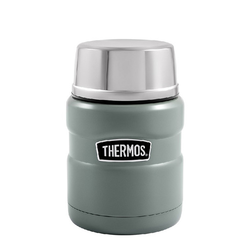 Термос для еды Thermos King SK3000-MGR (0,47 литра), салатовый