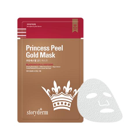 Антивозрастная маска на тканевой основе Premium Princess Peеl Gold Mask