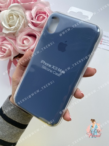 Чехол iPhone XR Silicone Case /alaskan blue/ морской лёд 1:1