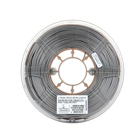 ESUN PETG 1.75 мм 1кг., серебристый