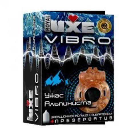 Эрекционное виброкольцо Luxe VIBRO