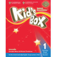 Kid's Box UPDATED Second Edition 1 Activity Book with Online Resources