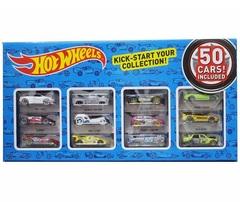 Хот Вилс набор 50 машинок