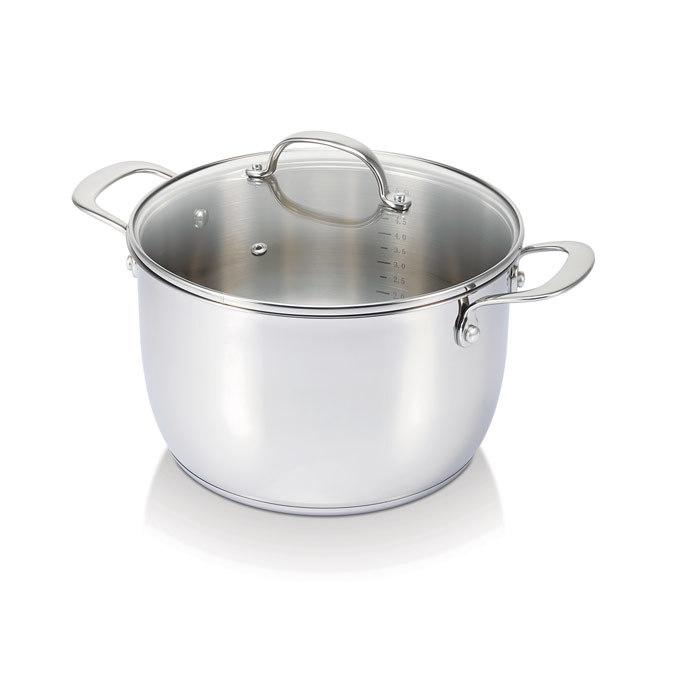 Кастрюля суповая BELVIA 6,2 л (24 см)