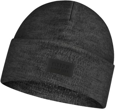 Шерстяная шапка с флисом Buff Hat Wool Fleece Graphite фото 1