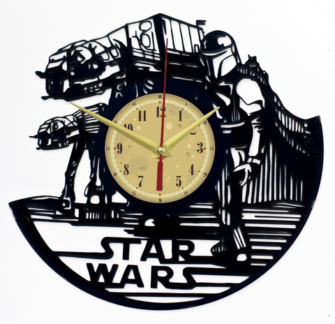 Звездные войны Часы из Пластинки — Шагоход