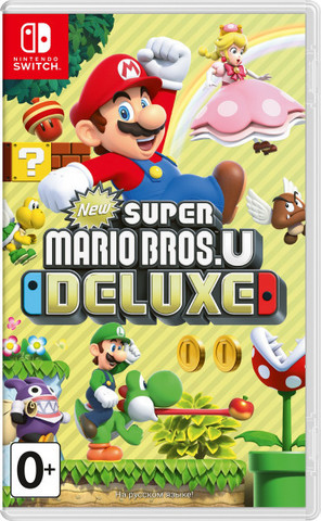 New Super Mario Bros. U Deluxe (Nintendo Switch, русская версия)
