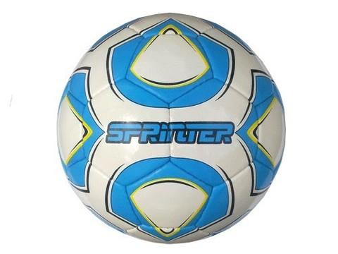 Мяч футзальный SPRINTER , пресскожа с полимерным покрытием., без отскока :(12313):