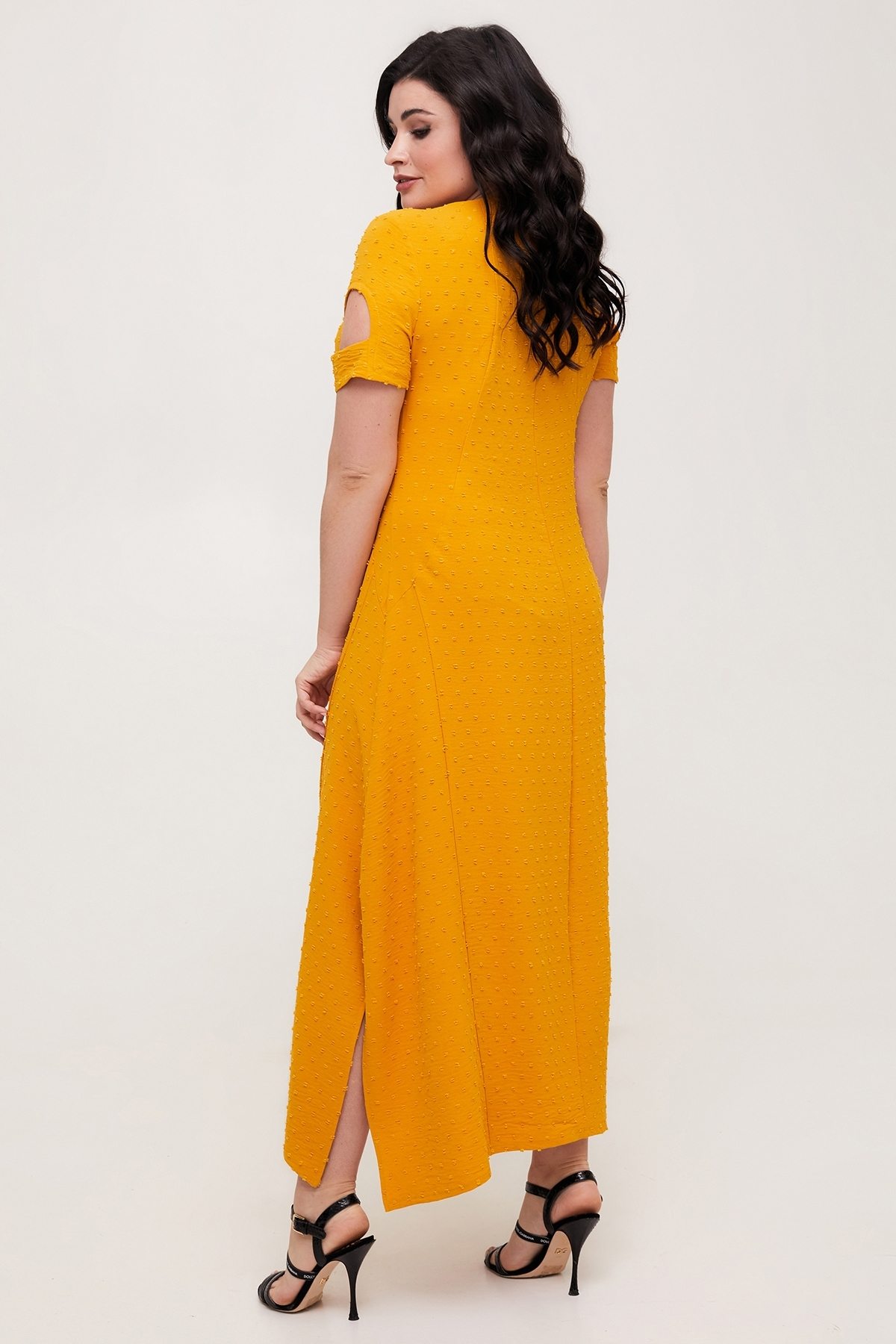 Сукня Лада (гірчиця)