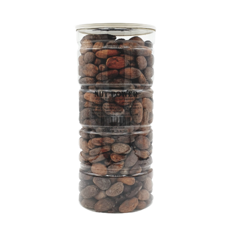 Какао-бобы сорт Криолло сушеные, обжаренные NUT POWER, 500 гр