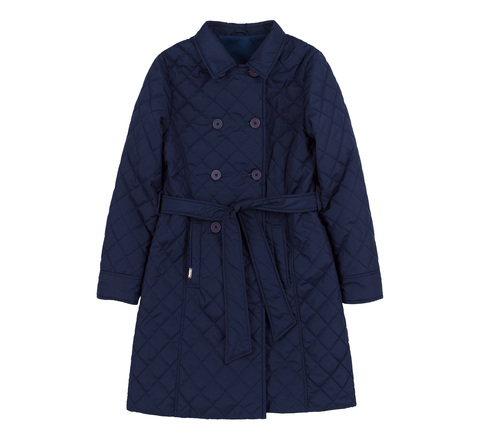 КТ223 Куртка для девочки удлиненная