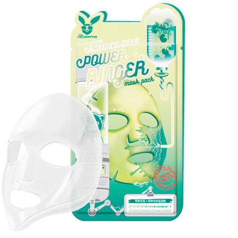 Тканевая маска для лицас экстрактом центеллы азиатской Elizavecca Deep Power Ringer Mask