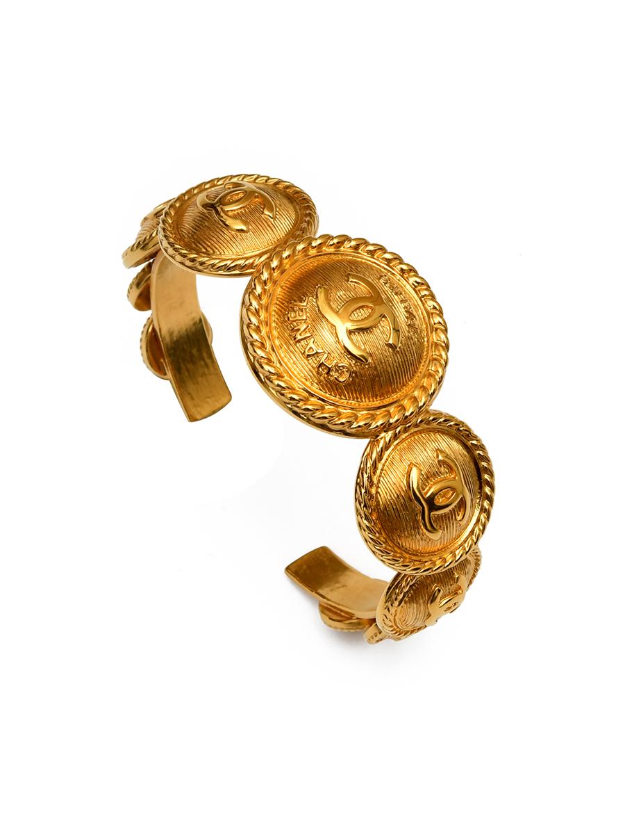 Лаконичный браслет Chanel осенняя коллекция 2018 г.