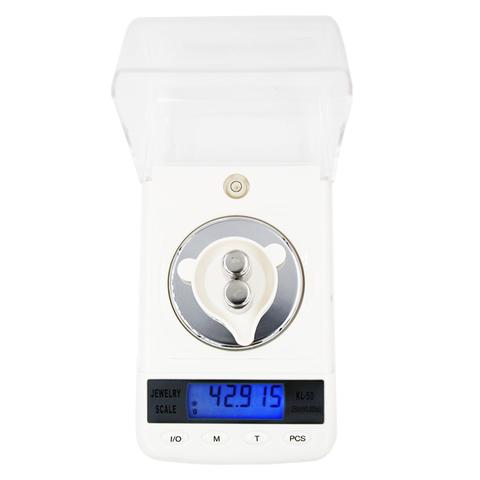 Электронные весы, лабораторные с точностью 0,001 г, максимальный вес - 50 г
