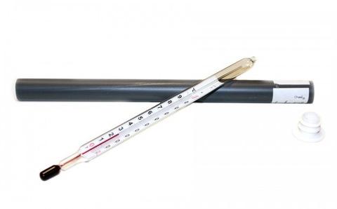 Термометр стеклянный ТС-4М в футляре