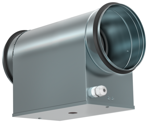 Электрический нагреватель Shuft EHC 125-1,8/1 для круглых каналов