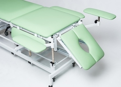 Массажный стол с электроприводом КСМ-04г с Регистрационным удостоверением