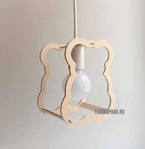 Подвесной светильник Wooden Zoo Teddy Bear (Мишка Тедди)