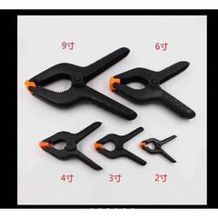 Plastic Clamp Fixture Fastening 3 inch  MOQ:100 (夹子)