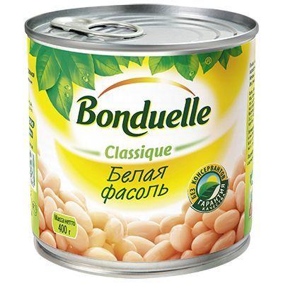 Фасоль белая  Bonduelle 400гр
